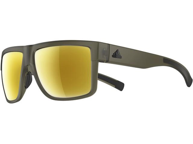 adidas 3 Matic Brille olive matt/gold